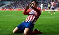 Morata lập cú đúp, Atletico nâng cách biệt với Real