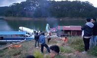Bơi thuyền ra hồ Tuyền Lâm khi đang nhậu, một người mất tích