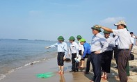 Cấm đưa du khách ra đảo cát mới nổi lên giữa biển Hội An