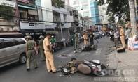 Hai xe máy tông nhau ở Sài Gòn, 3 người thương vong
