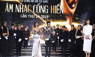Vũ Cát Tường, Bích Phương giành giải Cống hiến 2019