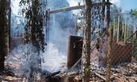 Mâu thuẫn với mẹ, thanh niên châm lửa đốt nhà