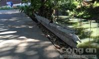 Ô nhiễm, mất an an toàn giao thông bên suối Bà Lúa