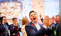 Diễn viên hài Zelenskiy đắc cử tổng thống Ukraine
