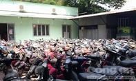 Công an quận 10 tìm chủ phương tiện 388 xe máy vi phạm