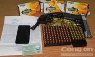 Bắt kẻ mang 2 khẩu súng, 178 viên đạn từ nước ngoài vào TP.HCM