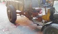 Xót xa cháu bé 4 tuổi bị xe công nông cán chết trước ngõ