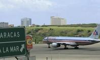 Mỹ cấm máy bay đi vào không phận Venezuela