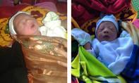 Bé gái vừa sinh, bị bỏ rơi trước trạm y tế xã