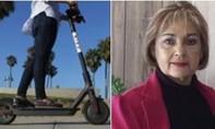 Người phụ nữ Mỹ bị đánh chết bằng xe scooter điện