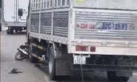 Xe tải chở gas tông xe máy, một học sinh tử vong