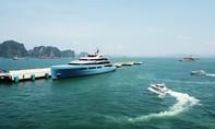 Chiêm ngưỡng siêu du thuyền 150 triệu đô giữa vịnh Hạ Long