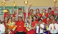 Đội Tứ Xuyên đăng quang ngôi vô địch