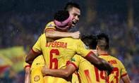 Clip trận đương kim vô địch Hà Nội gục ngã trước Nam Định