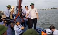 Chủ tịch UBND tỉnh Quảng Trị kiểm tra thực tế trên các sông