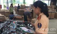 Xe tải chở 730 khẩu súng đồ chơi từ Lào Cai về Tiền Giang