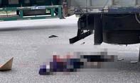 Mẹ và bé gái 8 tuổi dắt nhau qua đường, bị xe tải tông tử vong