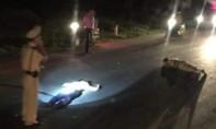 Xe vi phạm tông thẳng vào Trung tá CSGT, 2 người trọng thương