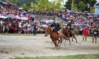 Lần đầu tiên, lễ hội đua ngựa được tổ chức tại Fansipan