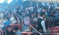 Gần 200 người dương tính ma túy trong quán bar lúc rạng sáng