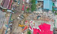 Cao ốc Trung Quốc đầu tư đổ sập ở Campuchia, 18 người chết