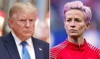 Tổng thống Donald Trump 'khẩu chiến' với sao bóng đá nữ Mỹ