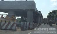 Nhiều vụ tai nạn xảy ra tại khu vực cầu vượt ngã tư Dầu Giây