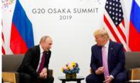 """Trump nói Putin """"đừng can thiệp bầu cử ở Mỹ"""" tại G20"""