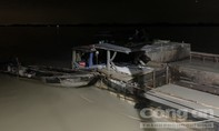 Bắt 3 phương tiện khai thác cát trái phép trên sông Đồng Nai
