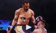 Clip pha bay người của võ sĩ MMA khiến đối thủ lật mặt