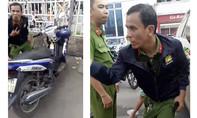 Bắt kẻ giả mạo Cảnh sát sát hình sự trộm xe máy ở Sài Gòn
