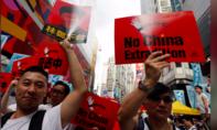 Biểu tình lớn nhất ở Hong Kong trong 15 năm qua
