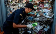 Indonesia trả lại hơn 210 tấn rác thải cho Úc