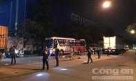 Tông vào đầu xe tải trong KCN Sóng Thần, một người chết tại chỗ