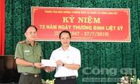 Công an TP.HCM thăm, tặng quà các thương binh