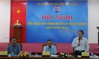 Bí thư và Chủ tịch tỉnh Hậu Giang đối thoại với doanh nghiệp