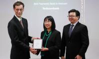 Techcombank nhận giải Ngân hàng cung cấp dịch vụ thanh toán tốt nhất Việt Nam