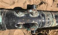 Súng thần công đào được ở Đà Nẵng là của Hà Lan