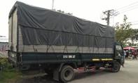 Bị phát hiện trộm hàng công ty, tài xế bỏ cả xe tải chạy thoát thân