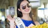 Hoa hậu Siêu quốc gia 2013 rạng rỡ đến Sài Gòn