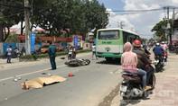 Xe SH tông trực diện đầu xe buýt ở Sài Gòn, cô gái tử vong