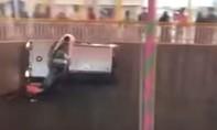 Clip màn biểu diễn 'bức tường thần chết' rợn người ở Ấn Độ