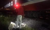 Tàu hỏa tông một người tử vong