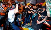 Cảnh sát Hong Kong bắt 6 người biểu tình chống khách du lịch Đại lục