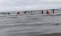 Tìm thấy 2 nạn nhân trong vụ 6 người chết đuối ở Bình Thuận