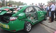 Xe tải tông taxi, 1 hành khách tử vong