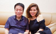 Ngọc Anh thăm nhà nhạc sĩ Phú Quang