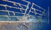 Clip xác tàu Titanic bị vi khuẩn ăn kim loại tấn công