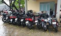 Phá 5 nhóm trộm cắp, thu giữ hơn 30 xe máy các loại
