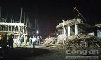 Công trình đổ sập trong đêm, 8 người bị thương và mất tích